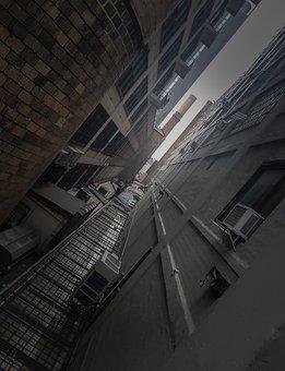 Perspecpctive, Vignette, Nyc, Manhattan, Usa, Building