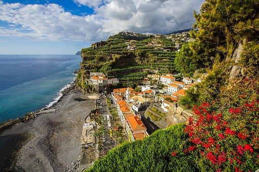 Portugal, Madeira, Ponta Do Sol, Island, Vacations