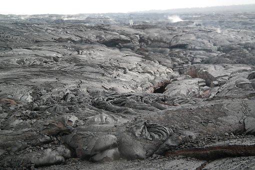Lava, Volcano, Petrified, Geology, Cold