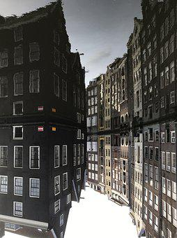 Amsterdam, Canals, Facades, Water