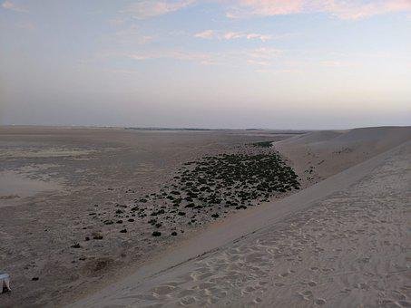 Desert, Saudi Arabia, Dry, Landscape