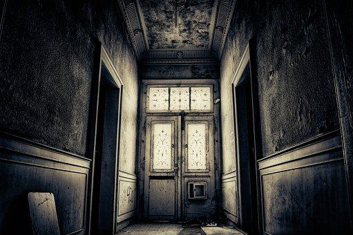 Floor, Corridor, Perspective, Empty, Dark, Gloomy