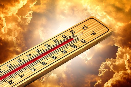 Thermometer, Summer, Heiss, Heat, Sun, Climate Change