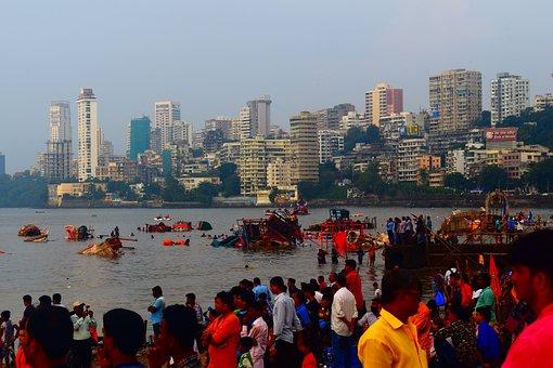 Mumbai, Festival, India, Hairstyle, Fashion, People