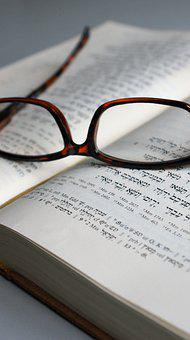 Isaiah, Glasses, Reading Glasses, Vision, Sight, Book