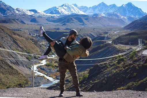 Cajon, Chile, Mountains, Snow, Valley, Laguna, Elyeso