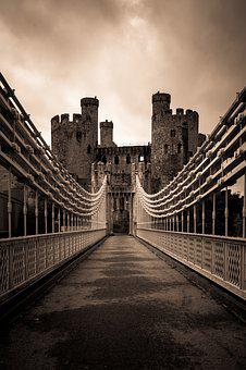 Castle, Conwy, Wales, Landmark, Architecture