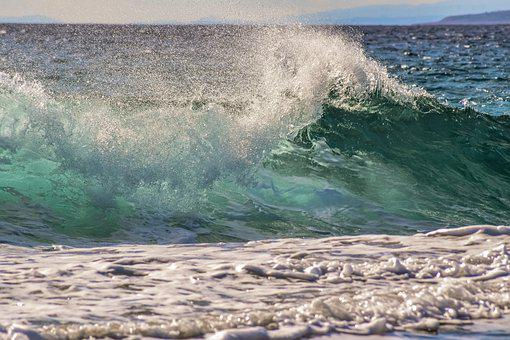 Wave, Surf, Sea, Water, Nature, Spray