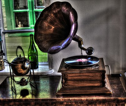 Started The Gramophone, Turntable, Guy, Open Air Museum