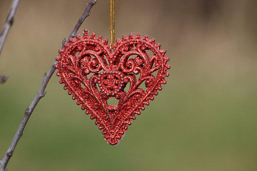Subject, Thing, Ornament, Heart, Love