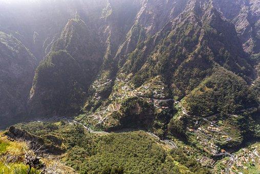 Madeira, Panoramic, Island, Mountain