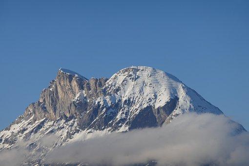 Tirol, Mountain, Sky, Austria, Alps