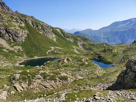 Moutains, Tour Du Mont Blanc, Nature