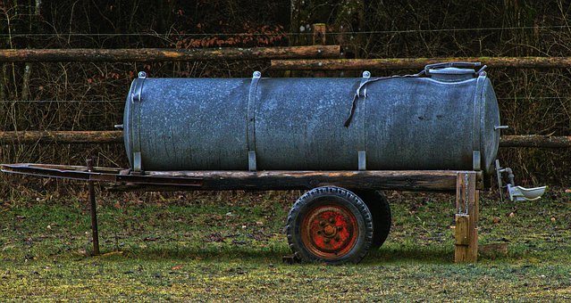 Water Tank, Water Truck, Agriculture