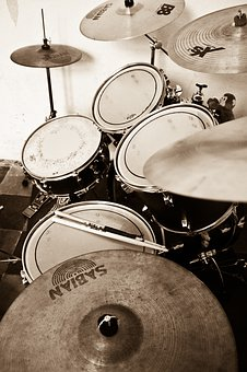 Battery, Music, Cymbal, Repeat, Drummer, Musician