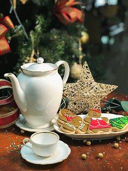 Christmas, Sweet, Cookie, Food, Cookies, Dessert