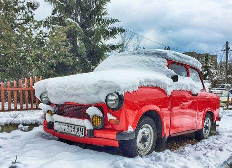 Trabant, East Germany, Gdr, Classic