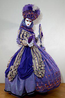 Mask, Venice, Costume, Carnival, Facemask, Italy