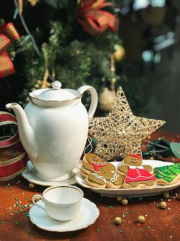 Christmas, Sweet, Cookie, Food, Cookies