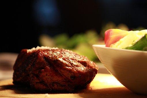 Meat, Steak, Fillet, Grill, Food, Eat