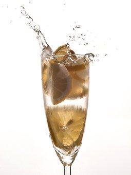 Lemon, Lemonade, Splash, Juice, Fresh, Refreshing