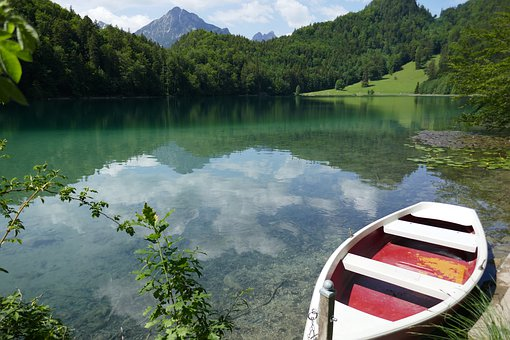 Füssen, Alatsee, Water, Nature, Lake
