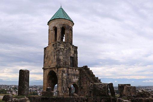 Georgia, Belfry, Temple, Bagrat, Kutaisi, Christianity