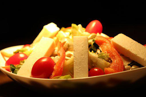 Salad, Fresh, Healthy, Fruit, Food, Vegetables, Eat