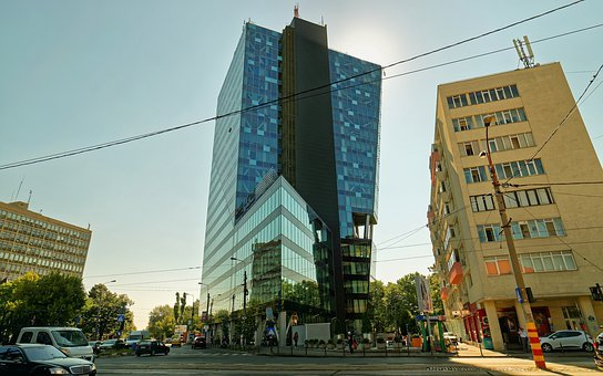 Landscape, Urban, Building, High