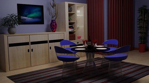 Apartment, Housing, Living Room
