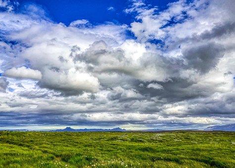 Iceland, View, Landscape, Beautiful