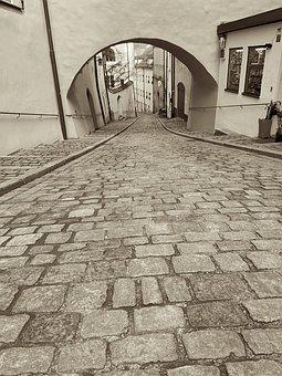 Road, Landscape, Away, Travel, Scenic, Passau