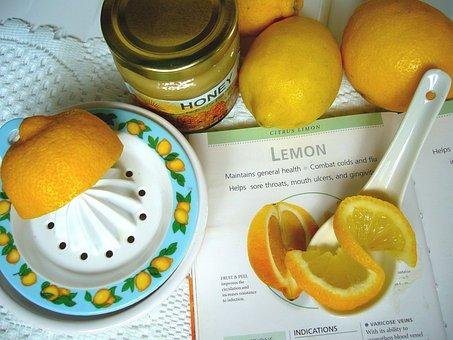 Lemon And Honey, Lemon Squeezer, Lemon, Lemon Juice