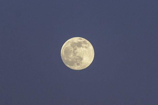Moon, Body, Astronomy, Universe, Sky, At Night
