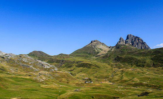 French Pyrénées, Landscape, Mountains