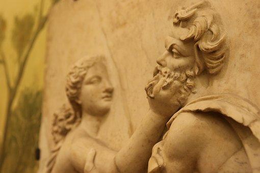 Naples, Italy, Museum, Sculpture, Archelogogy
