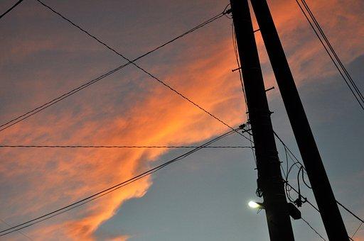 Natural, Landscape, Morning Glow, Sunset, Cloud, Sky
