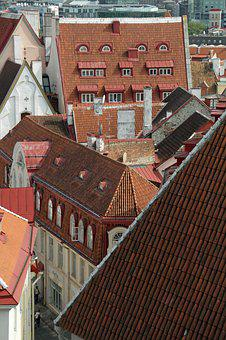 Roofs, View, Architecture, Buildings
