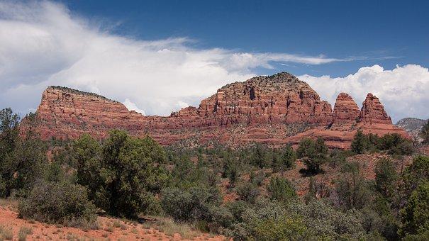 Sedona, Arizona, Landscape, Nature, Rock, Sandstone