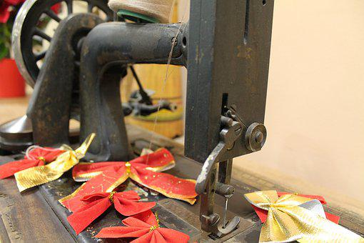 Sewing, Sewing Machine, Old Sewing Machine, Tailor
