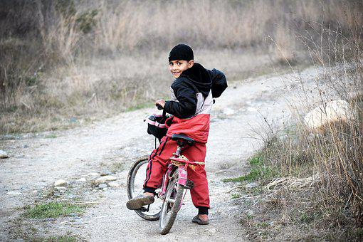 Boy, Cycling, Bike, Child, Sport