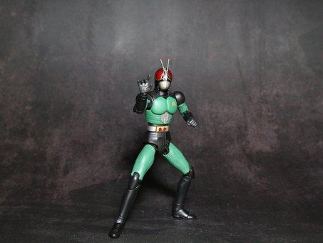 Japan, Figure, Statue, Sculpture, Kamenrider, Bandai
