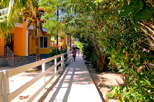 Sidewalk, People Walking, Walking, Urban, Person, Road