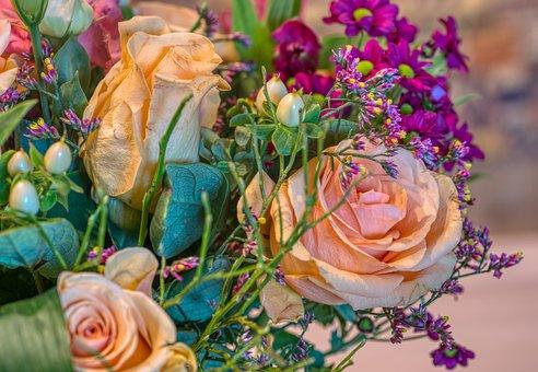 Bouquet, Valentine'S Day, Gift