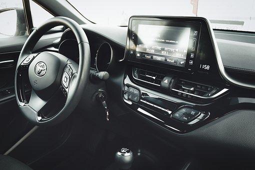 Auto, Toyota, Vehicle, Design, Interior, Steering Wheel