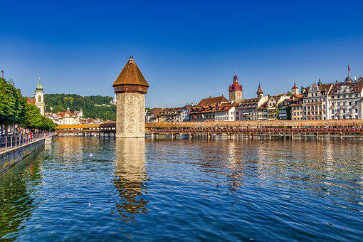 Switzerland, View, Landscape, Panorama, Alpine