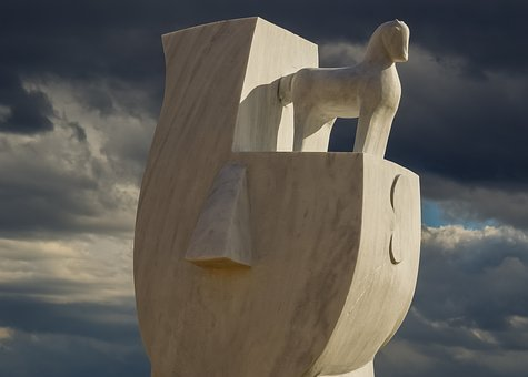 Cyprus, Ayia Napa, Sculpture Park, Sculpture, Marble