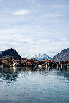 Switzerland, Iseltwald, Brine