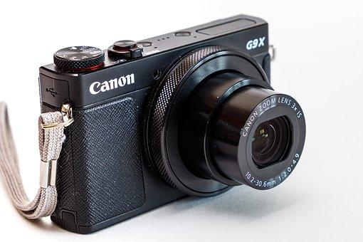 Camera, Digital Camera, Lens, Canon, Powershot