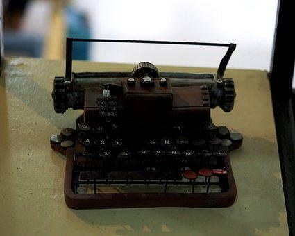 Type, Writer, Old, Vintage, Classic